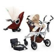 2012 Orbit Baby Stroller Travel System G2 с Кроватки Cradle G2 Mocha