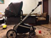 коляска б/у фирмы Goodbaby 3in1 (в отличном состоянии)