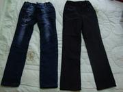 Джинсы и брюки для школы
